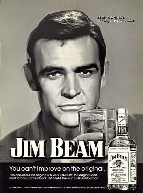 #SeanConnery #jimbeam @JimBeam