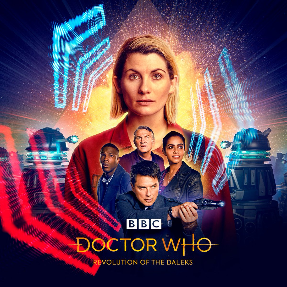 Replying to @bbcdoctorwho: #DoctorWho: Revolution of the Daleks. Coming soon.