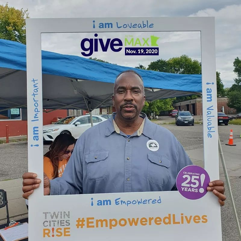 Special Thank YOU to all who donated to Twin Cities Rise on #GTMD20  OUR MISSION is to transform lives through Personal Empowerment, career training, and meaningful employment and because of you, we surpassed our 10K goal.  Didn't have a change to donate?