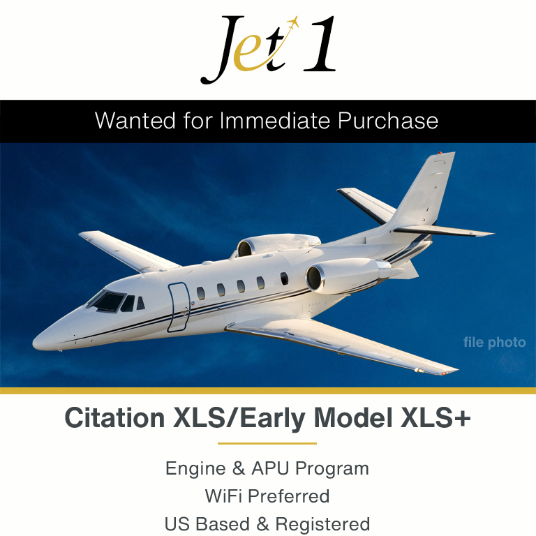 #aircraftwanted - #Citation #XLS/early model #XLS+ for immediate acquisition at Jet 1 Aviation Engine & APU program Contact them at: https://t.co/Jxr0Gcpnqi  #bizjet #bizav #aircraftforsale #privatejet #privateflying #jetforsale #businessaviation