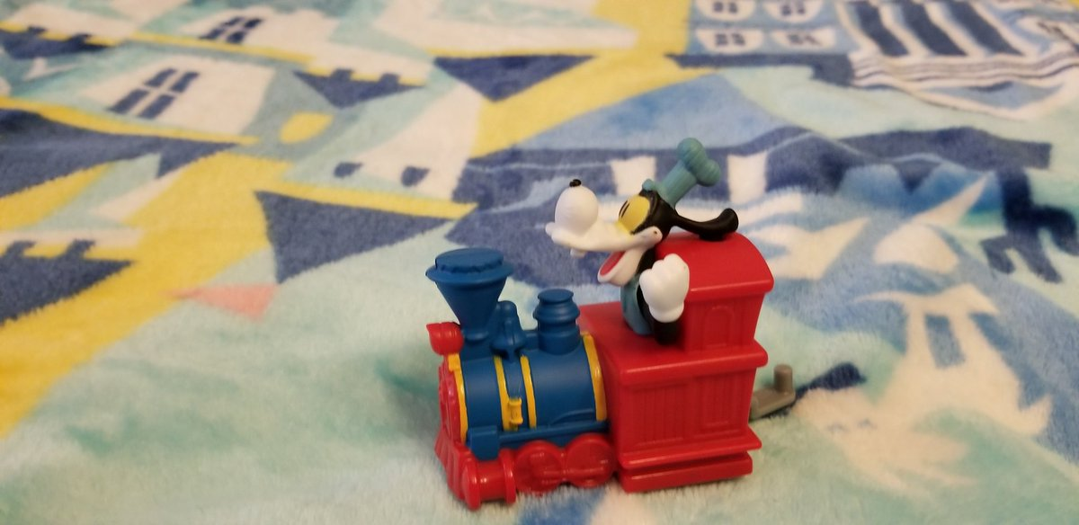 And The Toy I Got Is Engineer Goofy From Mickey's And Minnie's Runaway Railway At Disney's Hollywood Studios At Walt Disney World In Florida! #McDonalds #HappyMeal #HappyMealToys  #MickeyAndMinniesRunawayRailway  #MouseRulesApply #MickeyMouseShorts  #WaltDisneyWorld #D23 #Disney