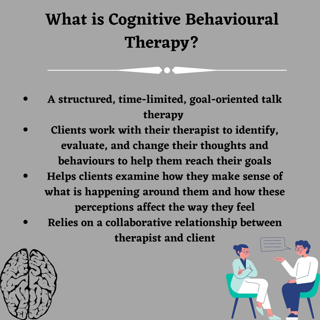 What is Cognitive Behavioural Therapy?   #cbt #mentalillness #uoft #Schizophrenia #psychosis