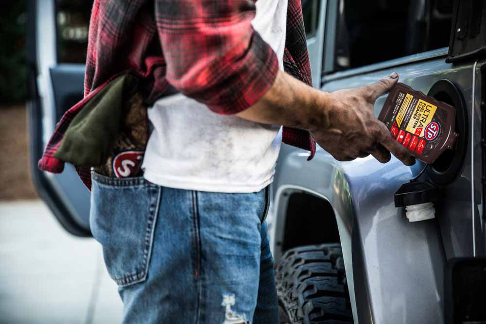 Your car is a big investment. Keep it running like it did when you bought it with @OriginalSTP's Ultra 5-in-1 Fuel System Cleaner. STP's most advanced formula yet. One bottle every 4,000 miles deep cleans your fuel system for long-lasting performance.