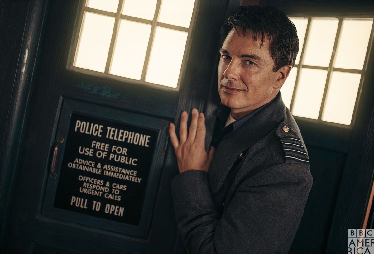 Captain Jack is back for #DoctorWho: Revolution of the Daleks! Read more:  #JackIsBack