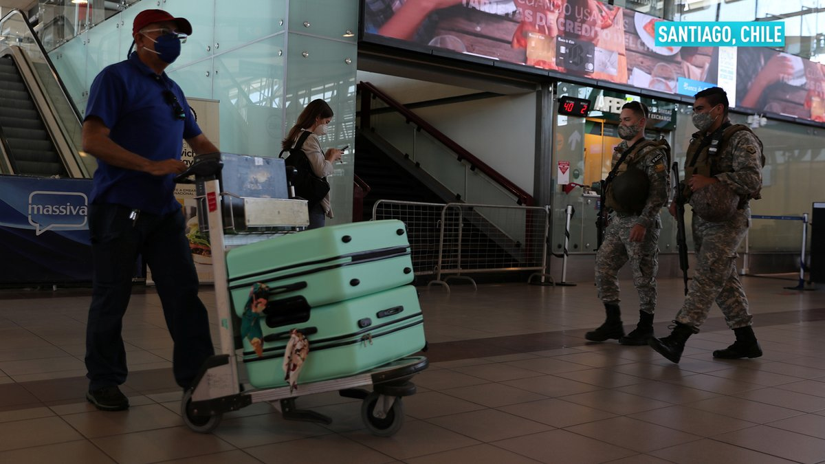 After eight months, Chile is allowing foreign visitors to enter through Santiago, as a part of the first phase of the country's reopening following the devastation of the COVID-19 pandemic.