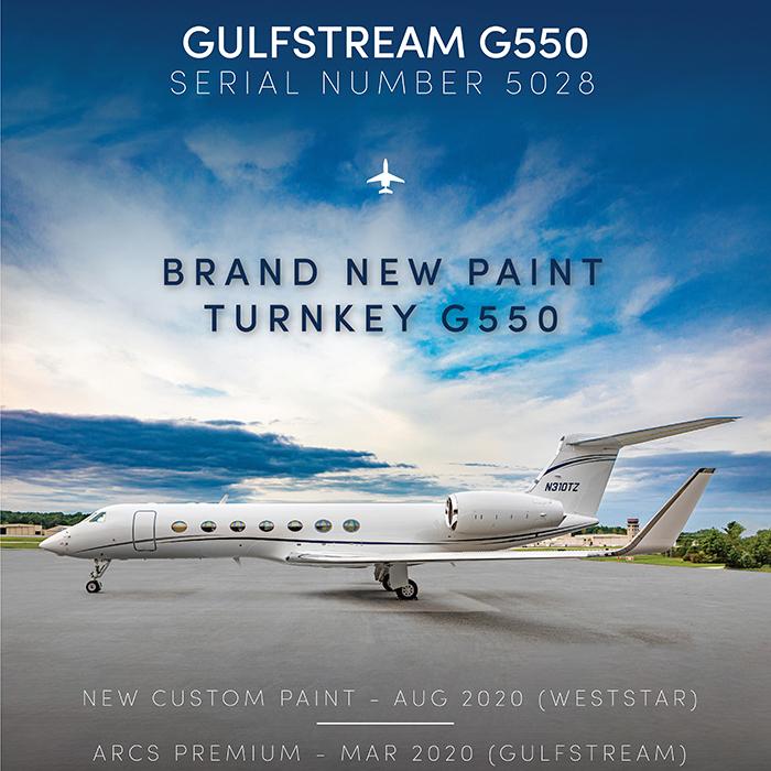 Turnkey #Gulfstream #G550 - ready for immediate delivery at @OGARAJETS    Brand new paint ARCS premium - Mar 2020 More details at: https://t.co/kKTu9jjH2M  #bizjet #bizav #aircraftforsale #privatejet #privateflying #jetforsale #businessaviation