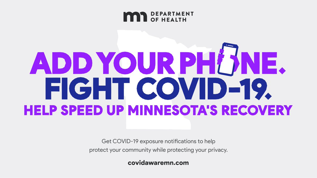As we learn more about COVID-19, new innovations are helping keep our communities safe. Today we announced a voluntary, anonymous app is available that can alert Minnesotans if someone they've been in close contact with – even someone they don't know – contracts the virus.