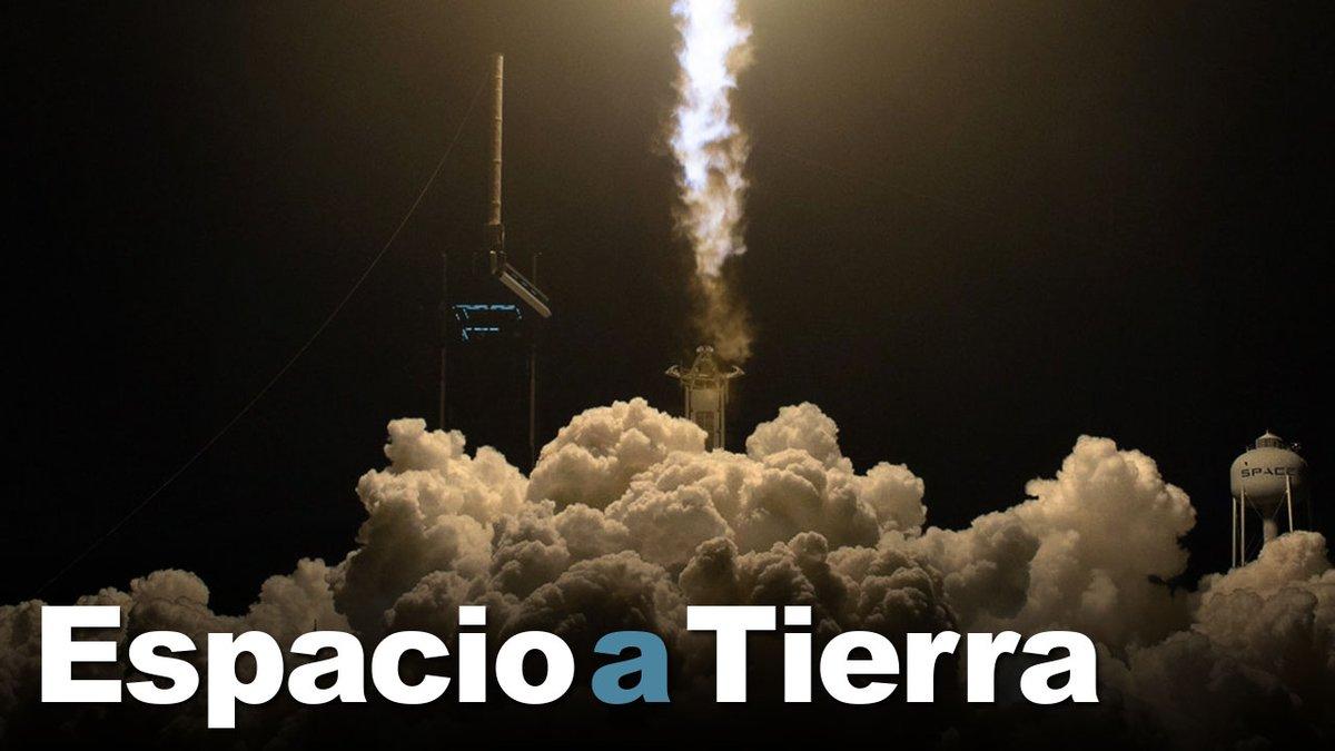 La semana pasada, la misión Crew-1 de @SpaceX  hizo historia cuando el Crew Dragon Resilience despegó hacia la @Space_Station y se atracó en ella. Dos cosmonautas se aventuraron fuera de la estación para dar un paseo espacial. #EspacioATierra https://t.co/WEowD6Hbdd