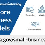 Don't know the difference between a GWAC and an IDIQ? Head to https://t.co/Ho7necGb76 to learn about different small business contract opportunities. #SmallBusinessSaturday @SBAGov @GSAOSDBU #ShopSmall