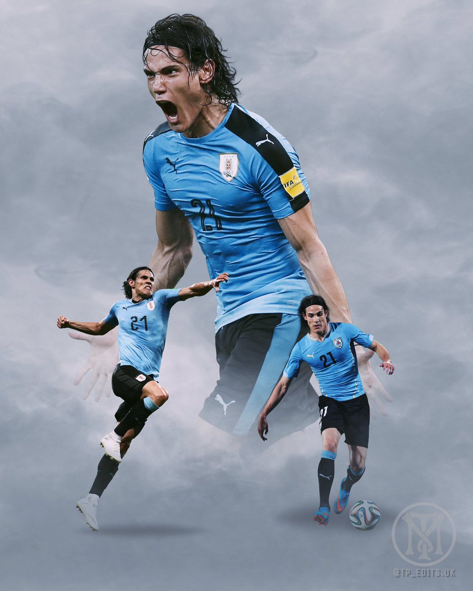 An @ECavaniOfficial @Uruguay edit for tonight....do like how this one came out, wish he'd came to the prem a lot earlier!  #edinsoncavani #cavani #Uruguay #ManchesterUnited #united #MUFC #red #WorldCup #edit #poster #posterdesign #PL #EPL #MUNWBA