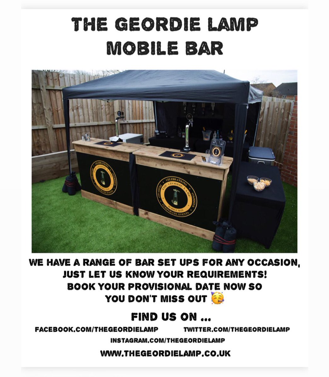 Have you got a special occasion coming up in 2021? We'd love to be a part of it and help you celebrate. Get in touch now to book your provisional date 😊 #mobilebar #events #celebrations #2021 #positivevibes #positivity