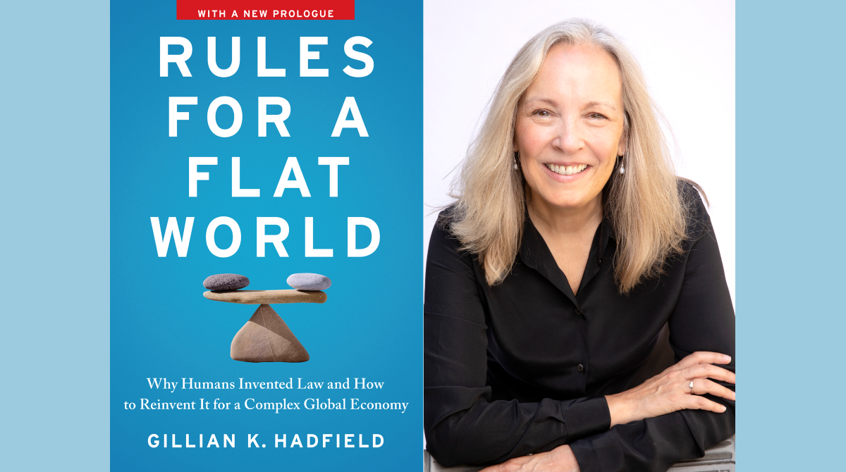 This Wednesday: #TorontoSRI Director @ghadfield will discuss the new paperback edition of her book, Rules for a Flat World—with a new prologue on AI—at @RotmanEvents. Hope you can join us!    #UofT #technology #innovation #ArtificialIntelligence #booktalks