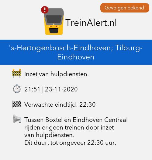 Melding hulpdiensten Eindhoven