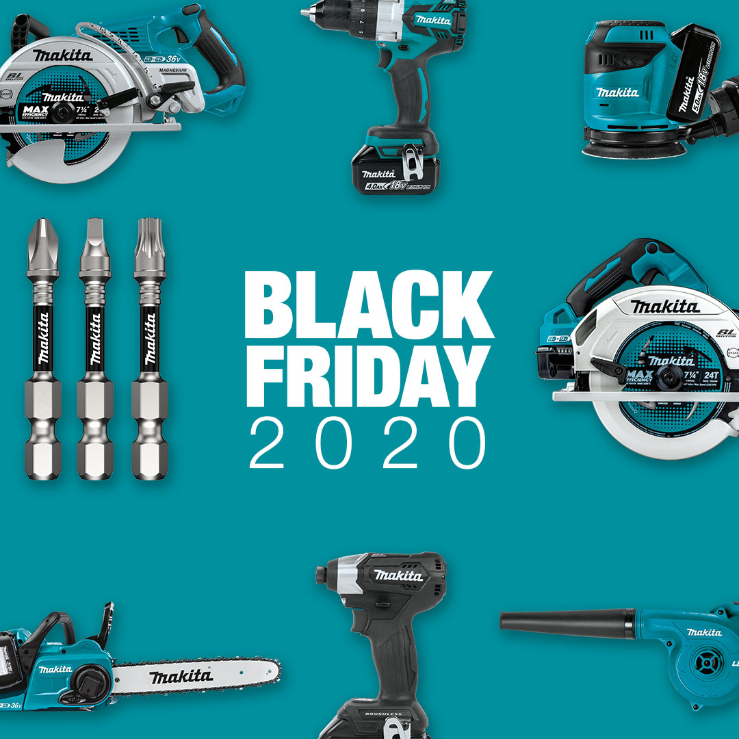 Black Friday promotions are here, but they won't last long!     #makitausa #blackfriday