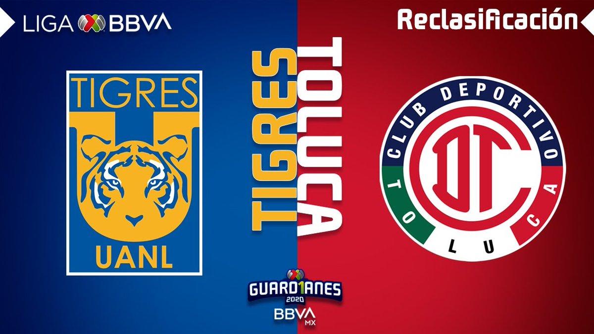 Resumen y Goles | Tigres vs Toluca | Liga BBVA MX - Guardianes 2020 - Reclasificación  📰Leer+⬇️ https://t.co/chtLYT3V2l https://t.co/2hQt00qAsv