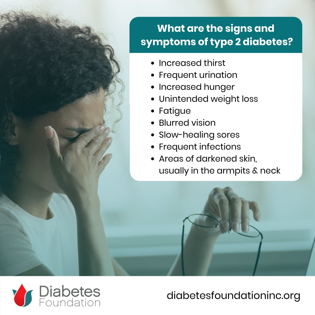test Twitter Media - #DiabetesTips — What are the signs and  symptoms of #type2 #diabetes? 🛑🚧⚠️ Increased thirst, frequent urination, increased hunger, and more... Check out the full list on our All You Need to Know Tip Sheets: https://t.co/ebSHtCujhw https://t.co/eSzL7Ulglg