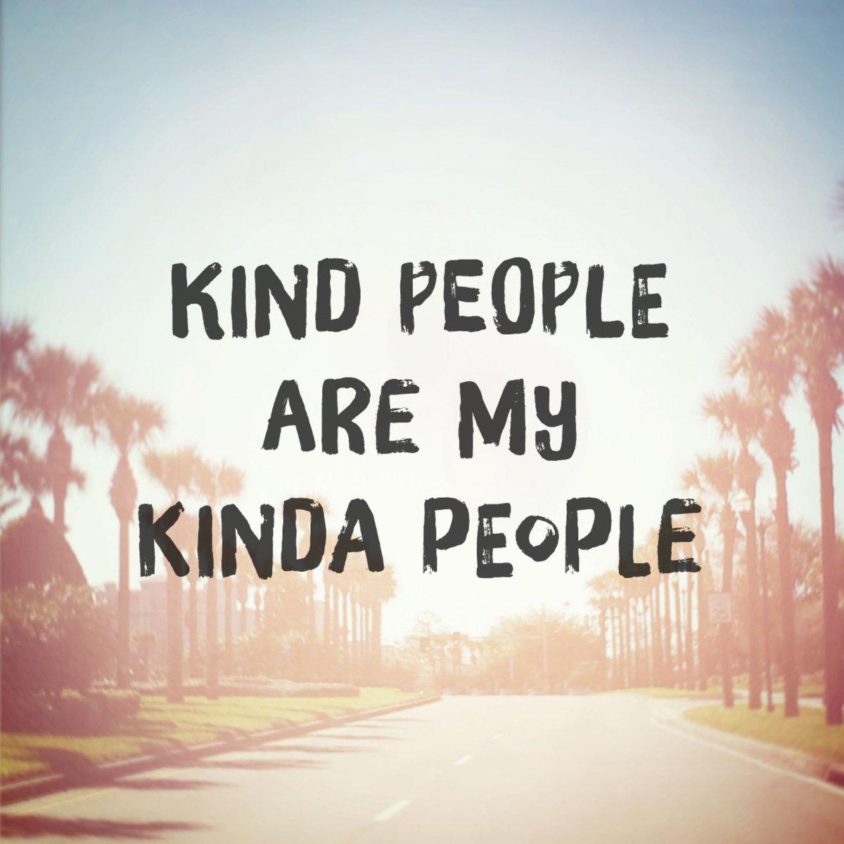 Kindness is beautiful.