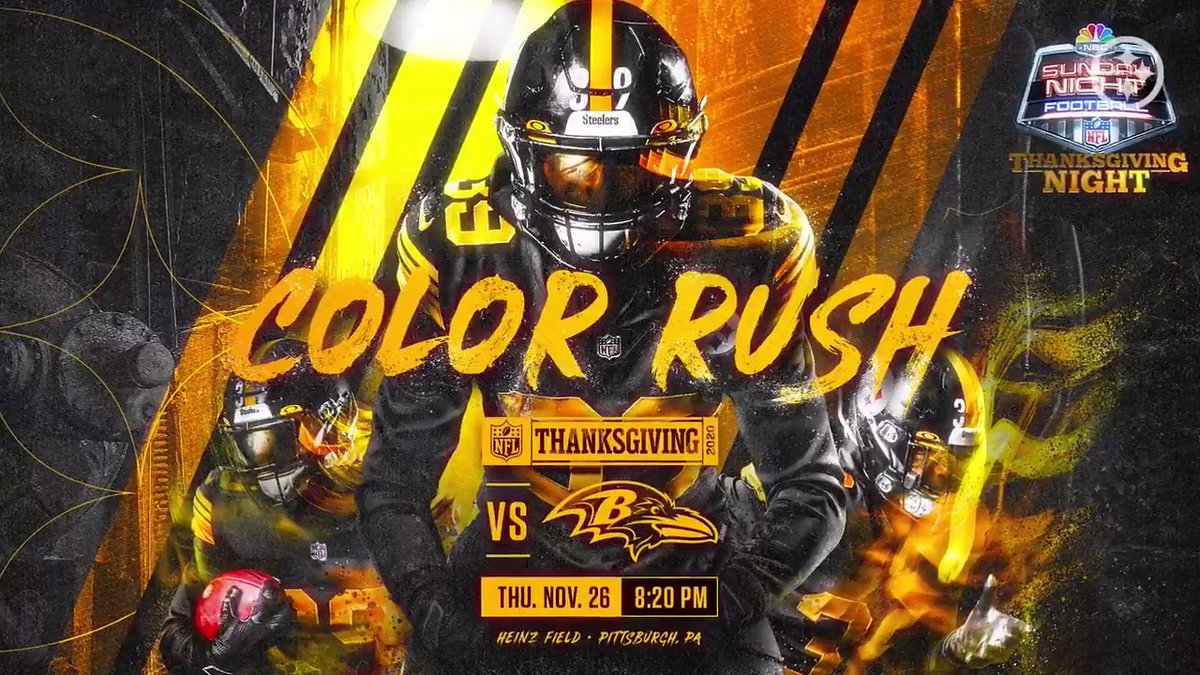 You wanted it 👀 You got it 🔥  Color Rush 🔜  #HereWeGo   #Thanksgiving