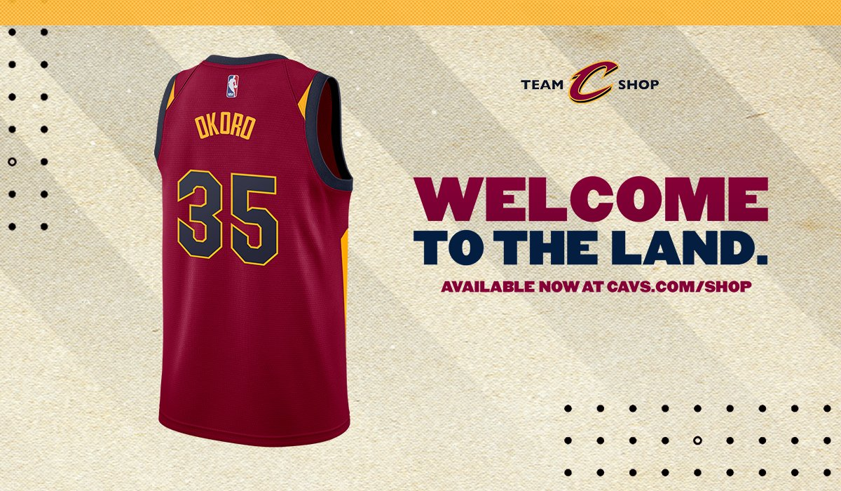 #⃣3⃣5⃣  The official Nike @IsaacOkoro303 #35 jersey is available now at https://t.co/wIkXPGaLob!  #CavsStyle https://t.co/6Ss8agtFin