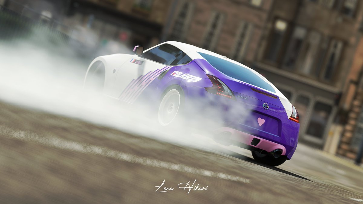 Nissan 370Z #ForzaHorizon4 #VirtualPhotography #cars #drift #Nissan #Fairlady #370z https://t.co/crdcir8P8n