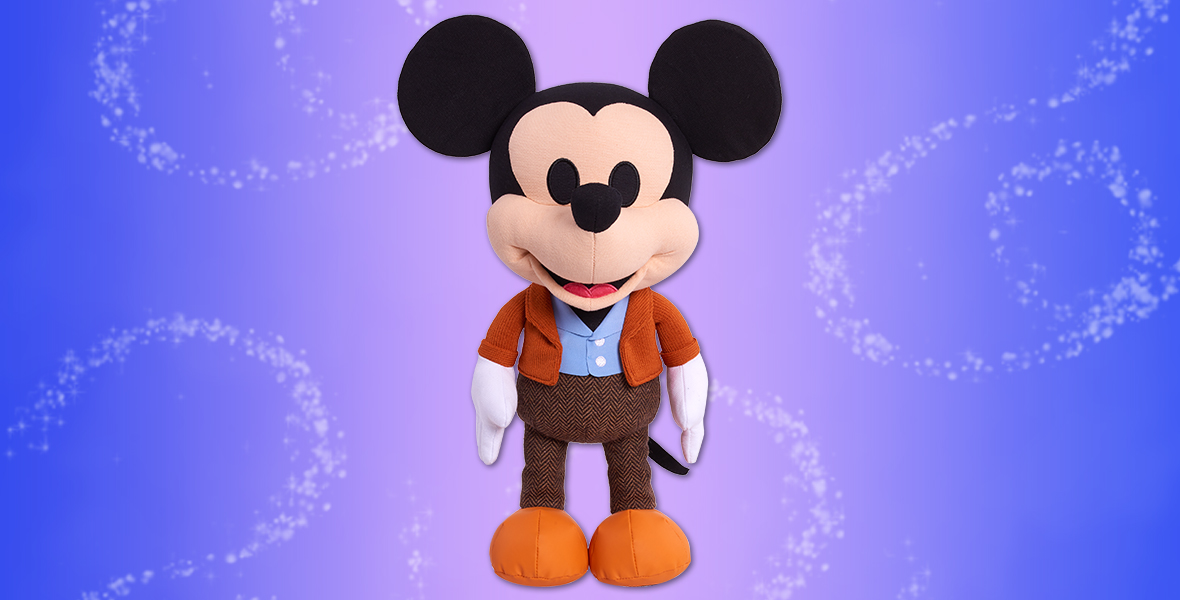 "Don't miss out! Get your #D23FantasticWorlds limited edition ""A Man and His Mouse"" Mickey Mouse plush on Amazon now:"