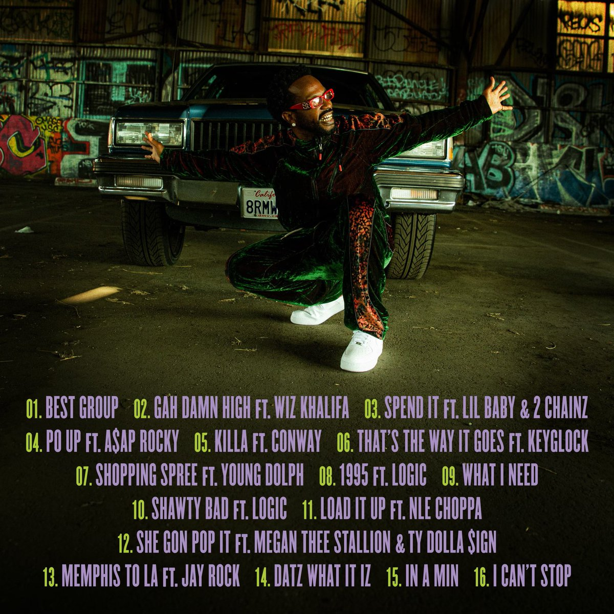 (THC) The hustle continues tracklist  pre order now     Nov27