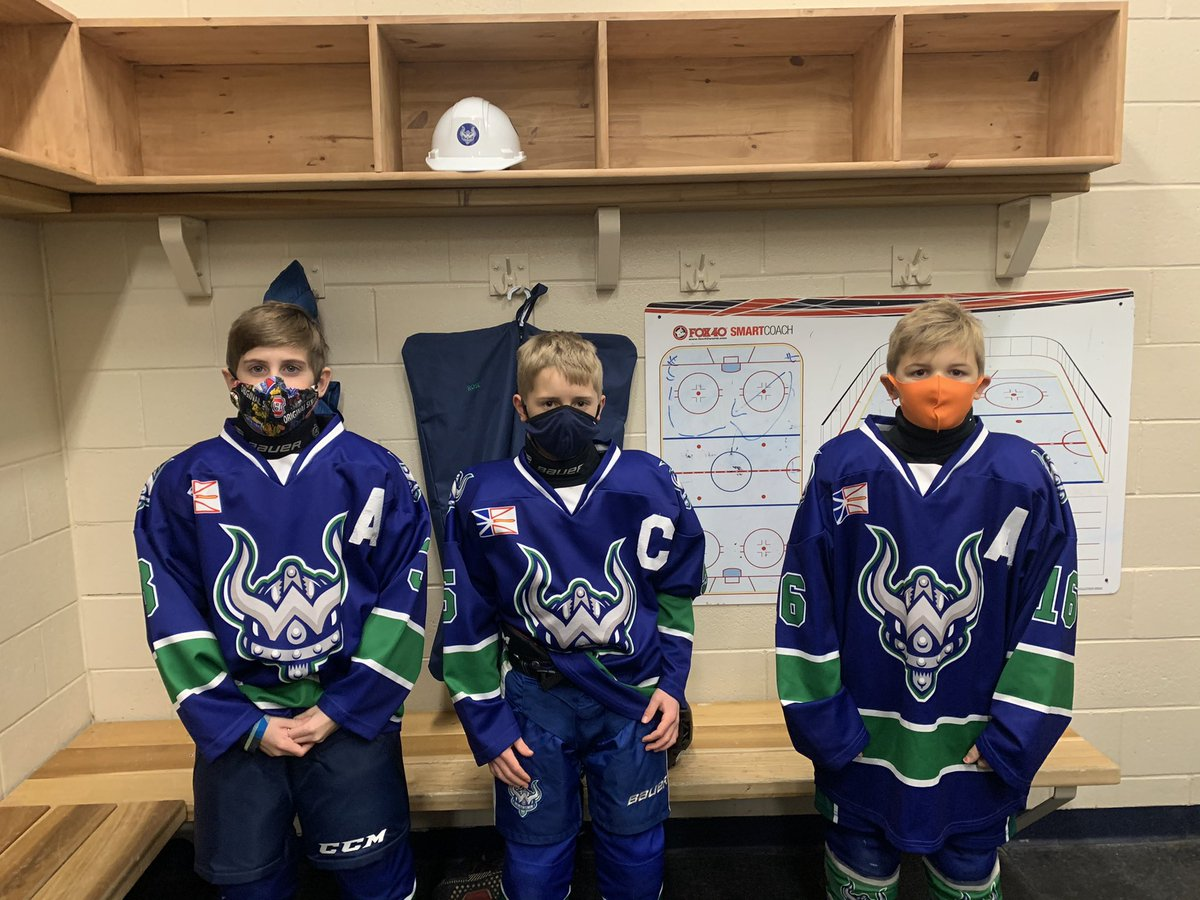 @PmhaWarriors U11B-Blue have votes on their leadership for the season! Congrats to our captain Theo Tocknell, and our Assistants Sam Rose and Hudson Penney! #GoWarriors @DJHLnews