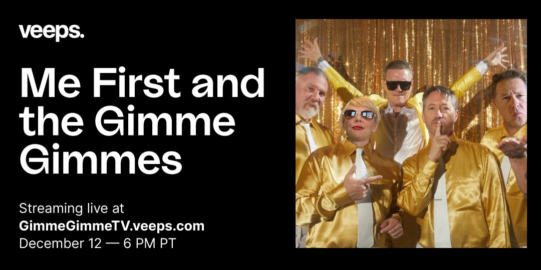 It's that time of year! Join @GimmeGimmeDivas for their annual holiday extravaganza with the premiere of Gimme Gimme TV on 12/12 - Tickets on sale now!