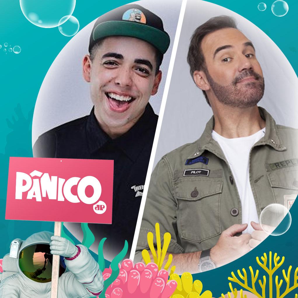 Nesta terça-feira (24) vamos conversar com Lucas Selfie e Diogo Portugal.💥 Deixe sua pergunta aqui nos comentários!  Assista ao Pânico de segunda a sexta, ⏰ ao meio-dia, pelo site ou app da 👉🏼 PANFLIX, a TV da Jovem Pan