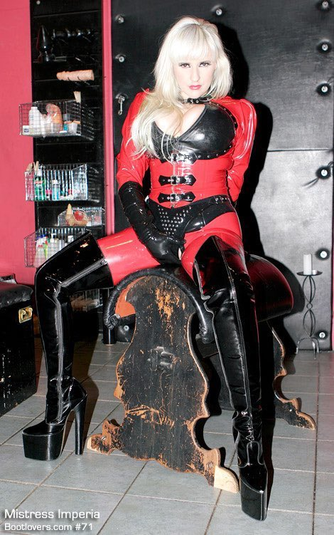 Inspiration: @DominaImperia mistressimperia.com MISTRESS IMPERIA Bootlovers No. 71