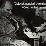 Image for the Tweet beginning: Başta Başöğretmenimiz Mustafa Kemal Atatürk