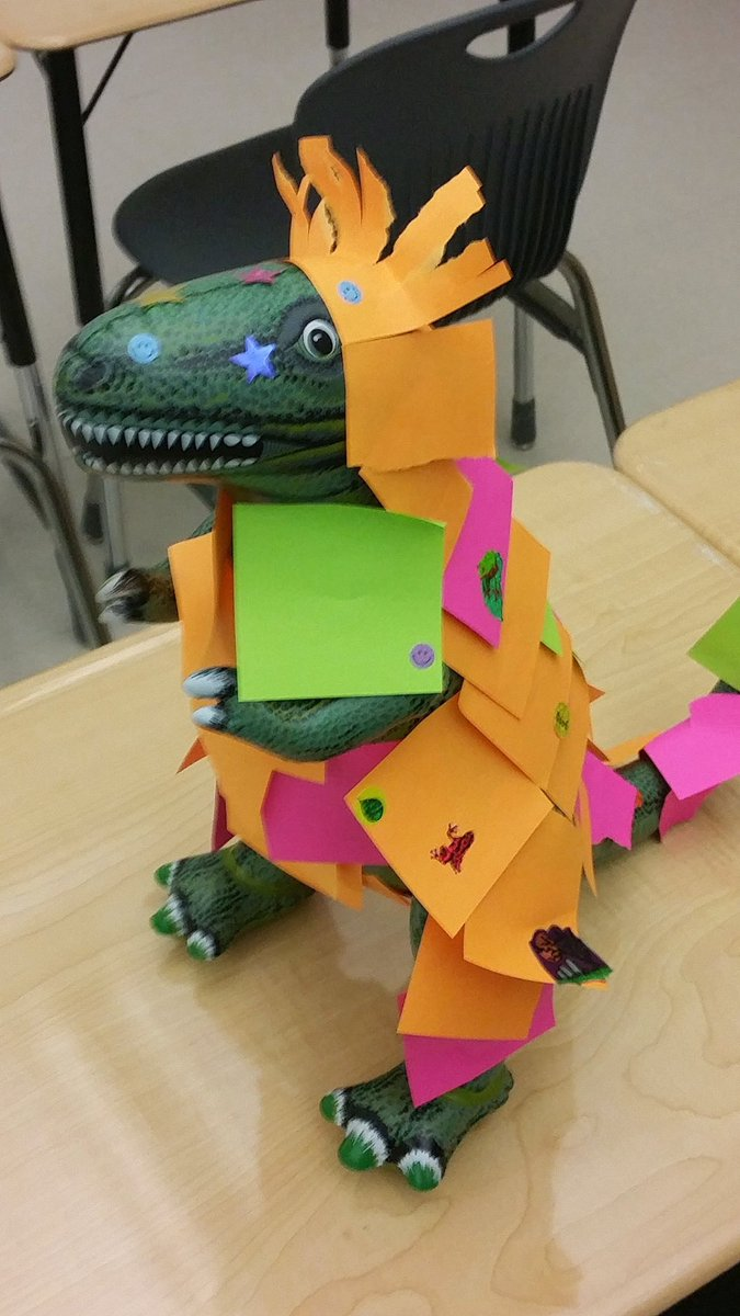 ...this dinosaur model isn't scientifically accurate! Okay, well make it better....15 minutes later.