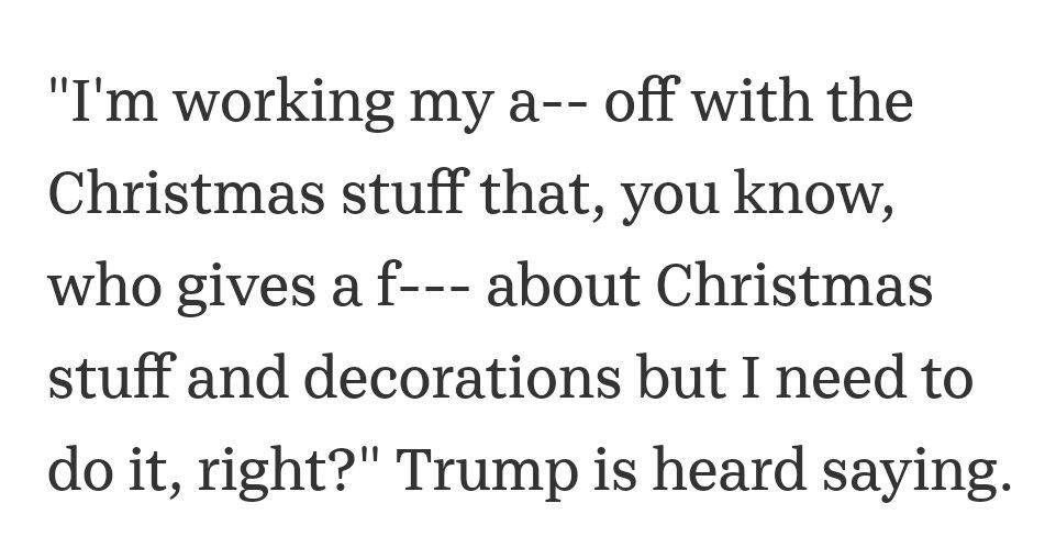 @StevieStacks84 @FLOTUS @WhiteHouse Remember she loves decorating Christmas stuff