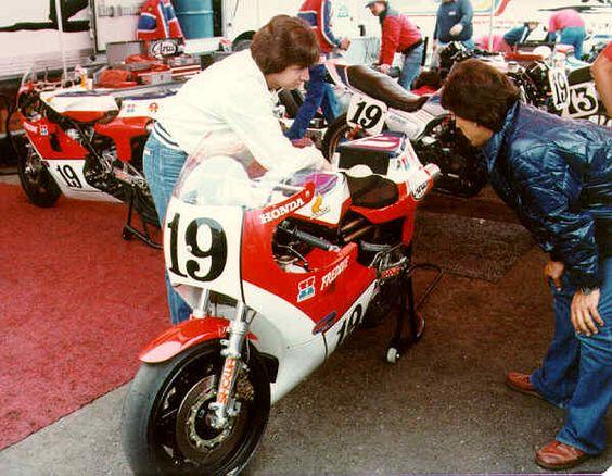 Classic #MotoGP #ClassicMotoGP time...Spencer @Freddiespencer Baker