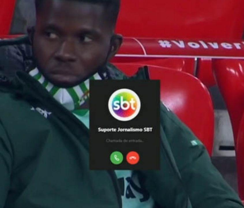 Fato curioso ocorreu durante transmissão de partida entre Athletic Bilbao e Real Bétis https://t.co/bxXJVzkUMh https://t.co/ZSMzTLGPz9