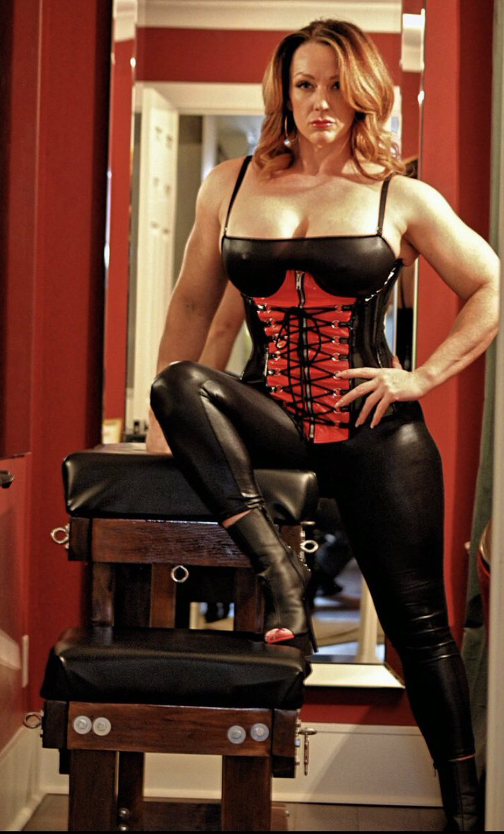 Inspiration: @Miss_RedDiamond theritualchamber.ca KINKY MUSCLE GODDESS Mistress Red Diamond is a fiery redhead whose background in Bodybuilding and MMA make her the picture of absolute strength, power and grace. You may feel an instinctual fear when in her presence.