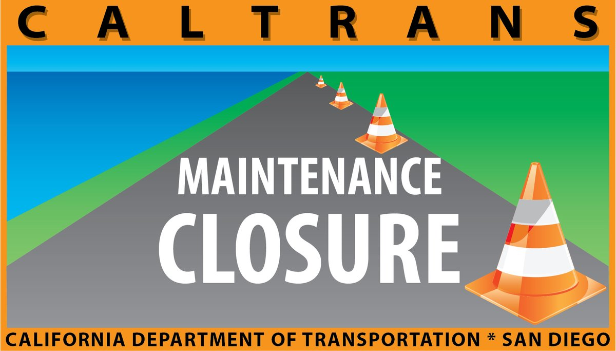 Image posted in Tweet made by Caltrans San Diego on November 24, 2020, 4:00 pm UTC