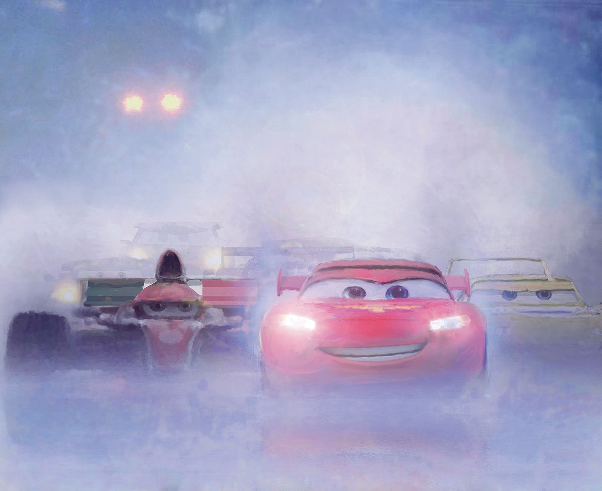 Racers, start your engines! (Concept art from Cars 2)