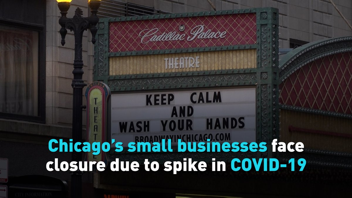 The pressure on small businesses in Chicago and across much of the U.S. looks set to continue for the next few months as more restrictive COVID-19 lockdowns are imposed in the country.