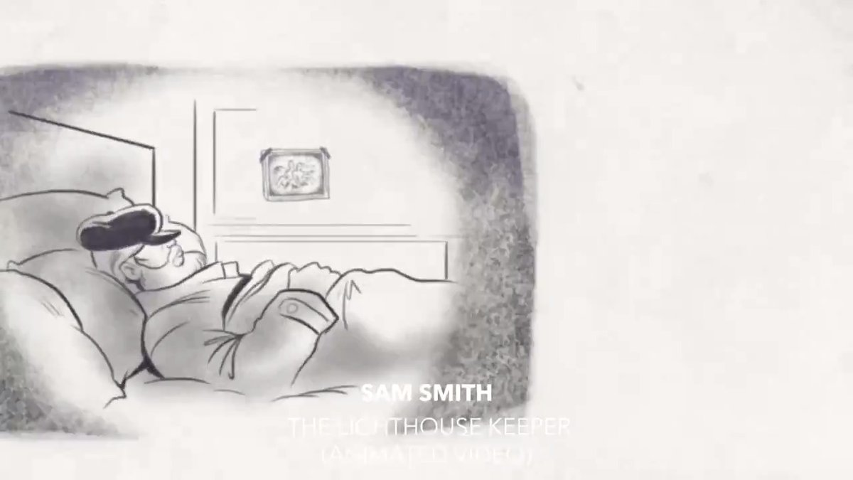"""Watch the nostalgic animation for @samsmith's inspiring Christmas song, """"The Lighthouse Keeper"""" ✨ ⠀⠀⠀⠀⠀⠀⠀⠀⠀ ▶️"""