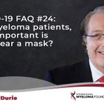 Image for the Tweet beginning: #AskDrDurie COVID-19 FAQ #24: For