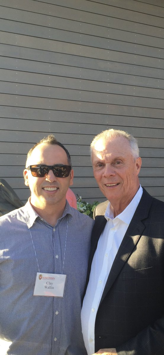 Remember when I was hanging out with #Badgers coach Bo Ryan? Yeah, me too...That was pretty cool. @BadgerMBB