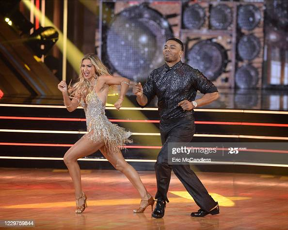 """Nelly and dance partner Daniella Karagach appear in the finale of season 29 of """"Dancing with the Stars"""" on ABC  More 📸 #DWTS 👉 #DancingWithTheStars #Nelly #DaniellaKaragach"""