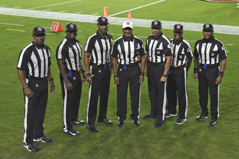 NFL MAKES HISTORY: An all-Black officiating crew worked an NFL game for the first time in league history when the Los Angeles Rams faced the Tampa Bay Buccaneers on Monday night. kron4.com/sports/nfl-mak…