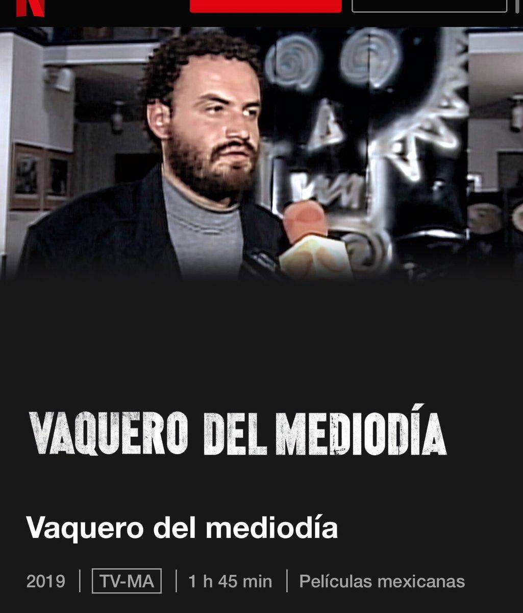 Que gran documental #vaquerodelmediodia #Netflix #BuenLunes