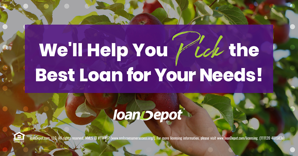 With 300+ competitive loan products, we'll help with picking the best loan program that fits your needs and works best with your financial situation. I'm always red-ily available to discuss your home loan options, contact me today. #ApplePicking https://t.co/lAlivORvrU https://t.co/mQApeDx7Qx