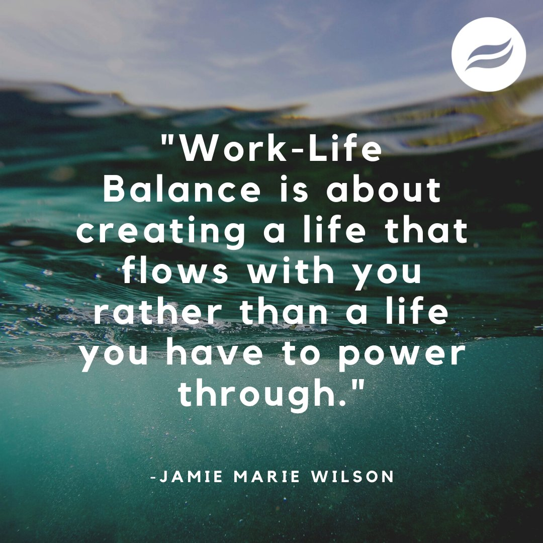 Whether you're a student, a dog mom, or a caregiver, it is important to find a work-life balance that works best for your needs. #worklifebalance #motivationalmonday https://t.co/ekwkolfZBe