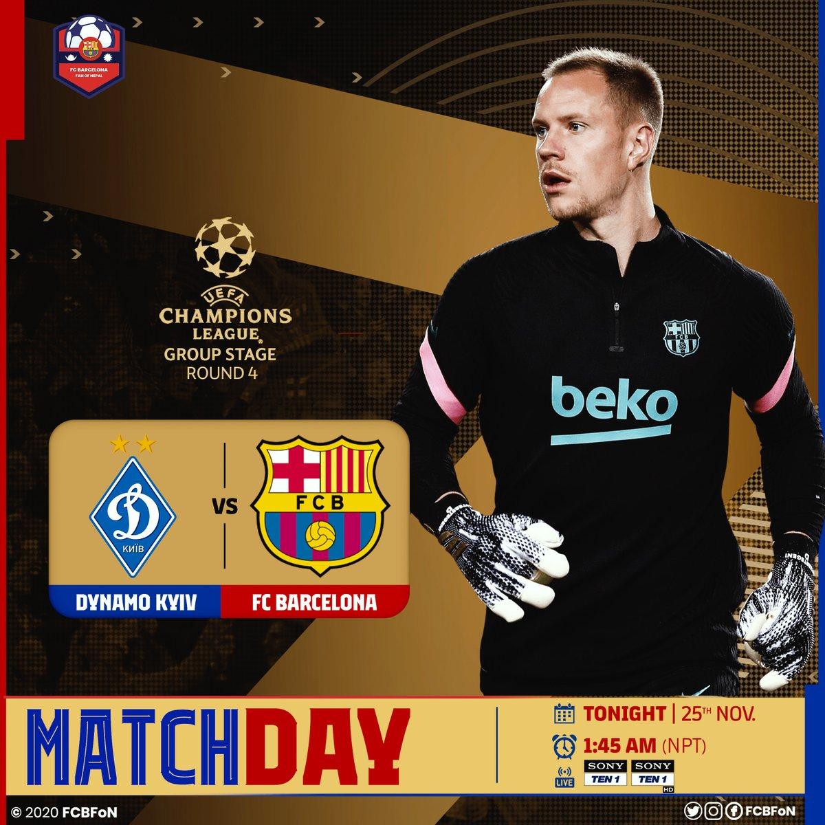 Champions League is 🔙💙❤  #MATCHDAY #KyivBarca #UCL #FCBFoN https://t.co/7Ri2Chkh1x