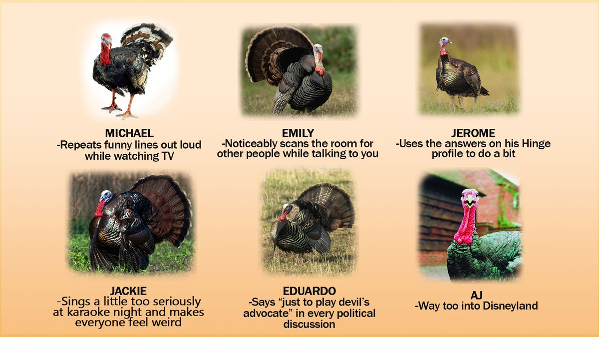 which turkey would you pardon and which turkey would you eat?