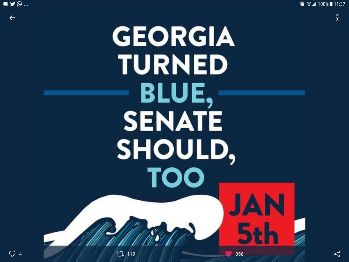 @realDonaldTrump ... #ByeDon and #TransitionToBiden and  @GEORGIA: #FlipTheSenateBlue to finish 8 yrs of corrupt #GOPscam
